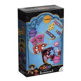Set 3 Juegos en 1 Disney Pixar Coco