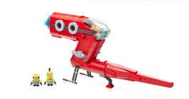 Minions Jet de la Super Villana Mega Bloks