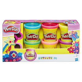Sparkle Pack 6 Play Doh