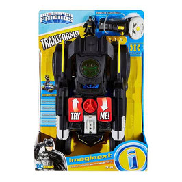 Imaginext DC Super Friends Batmóvil Transformable de R/C Fisher Price