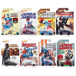 Hot Wheels Colección Capitán América