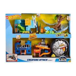Hot Wheels City Pack Ataque de Criaturas