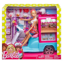 Barbie Cocina y Crea Carrito de Bocadillos