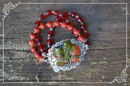 "Armband ""Strawberry Cheesecake"""