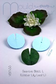 Water Lily Leaf L
