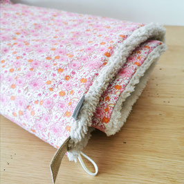 Couverture rose liberty