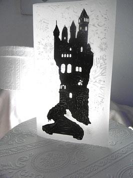 Billett Scherenschnittpapier Transparent