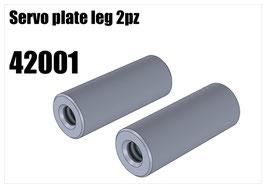 Servo plate leg 2pcs