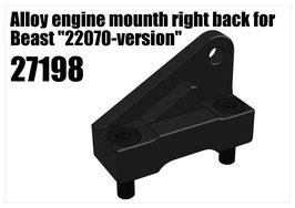 "Alloy engine mounth for Beast ""22070v"