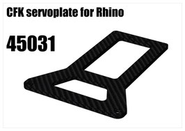 CFK servoplate for Rhino