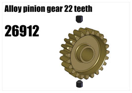 Alloy pinion gear 22 teeth