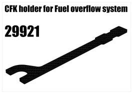 CFK holder for Fuel overflow system