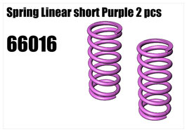 Spring Linear short Purple 2pcs