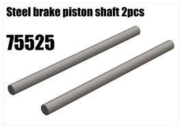 Steel brake piston shaft 2pcs