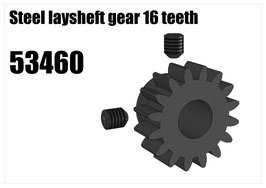 Steel laysheft gear 16 teeth