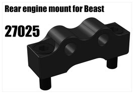 Rear engine mount for Beast (Optional version)