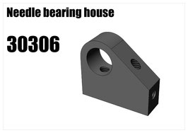 Needle bearing house