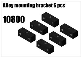 Alloy mounting bracket 6pcs