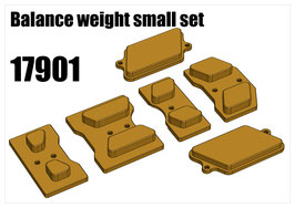 Balance weight small set