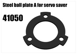Steel ball plate A for servo saver