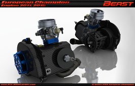 Engine Combo for XT Touring Car Chassis kit Beast S232 engine (23ccm) (external ignition version)