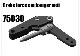Brake force enchanger set