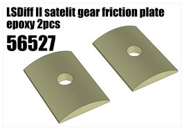 LSDiff II satelit gear friction plate epoxy 2pcs