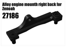 Alloy engine mounth right back for Zenoah