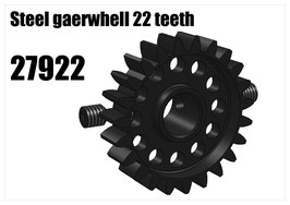 Steel gearwhell 22 teeth