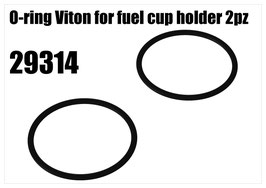 O-ring Viton for fuel cup holder 2pcs