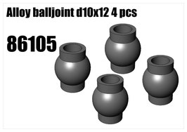 Alloy balljoint d10x12 4pcs