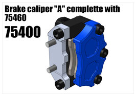 "Brake caliper ""A"" complette with 75460"