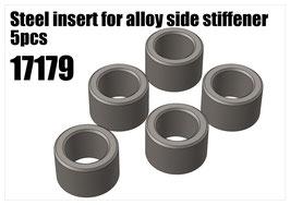 Steel insert for alloy side stiffener 5pcs