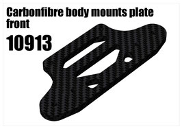 CFK front body mount plate
