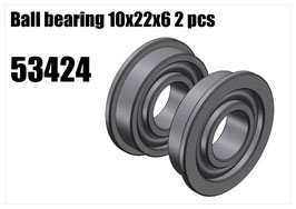 Ball bearing 10x22x6 2pcs