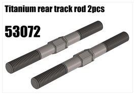 Titanium rear track rod 2pcs