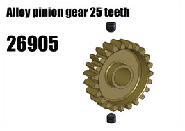 Alloy pinion gear 25 teeth