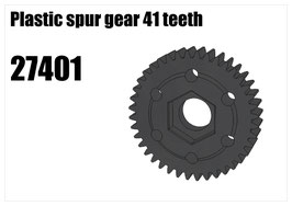 Plastic spur gear 41 teeth