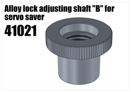 "Alloy lock adjusting shaft ""B"" for servo saver"
