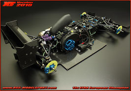 XF 2018 Formula One Chassis kit with Zenoah engine fixing kit (27080, 27085 and 27686)