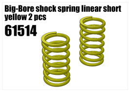 Shock's spring linear short yelow 2pcs