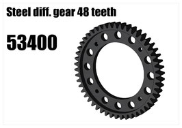 Steel diff. gear 48 teeth