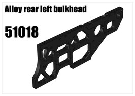 Alloy rear left bulkhead
