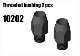 Threaded bushing 2pcs