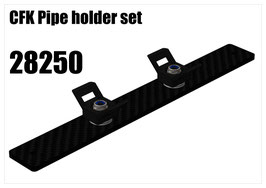 CFK Pipe holder set