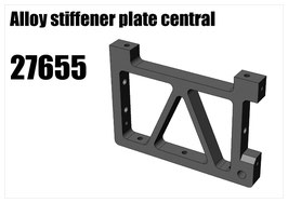 Alloy stiffener plate central