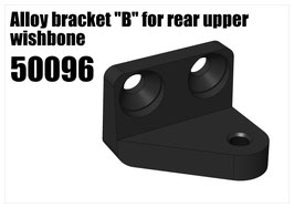 "Alloy bracket ""B"" for rear upper wishbone"