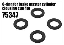 Brake O-ring for master cylinder cup 4pcs