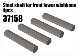 Steel shaft for front lower wishbone 4pcs