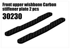 CFK front upper wishbone stiffener plate 2pcs